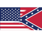 American Flag & Confederate Flag 3 ft. x 5 ft.