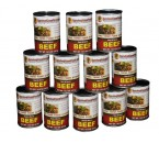 Survival Cave Food beef case