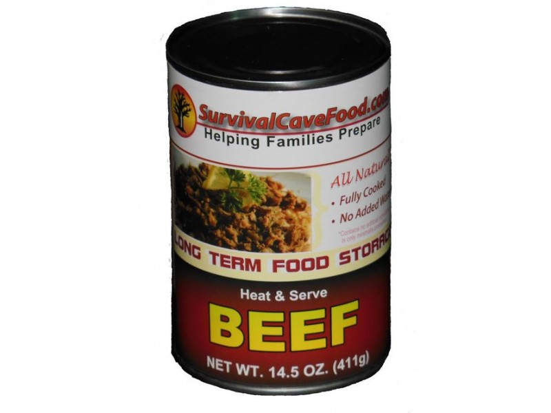 Survival Cave Pre Cooked Canned Beef The Best Pre Cooked